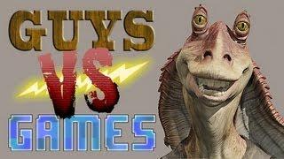 JAR-JAR MUST STOP - Star Wars Phantom Menace Game - Guys VS Games