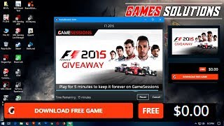 F1 2015 Download and Install Pc (Free Game Sessions GIVEAWAY)