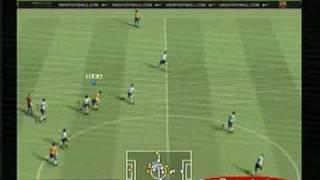 Jugando PES 2009 en un Playstation 2 capturado con TV Usb