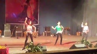 Best farewell performance by Nobel college's  ladies: Ranju Bhattarai, Pragya Dhakal, swastu Basnet