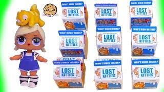 Lost Kitties ! Cats In Milk Dough Surprise Blind Bags