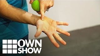 The Secret Pressure Point To Ease Neck Pain | #OWNSHOW | Oprah Online