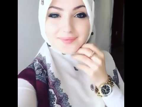 beautiful arabic girl looking so cute and innocent face lifestyle
