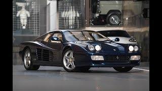 The 1995 512 TR | Blu Sera Metallizzato (Teaser)