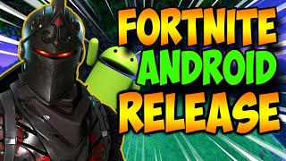 FORTNITE ANDROID?? (RELEASE DATE+RELEASED ON SWITCH!!)