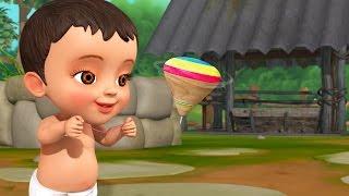 Bongaram (Spinning Top) | Telugu Rhymes for Children |Infobells