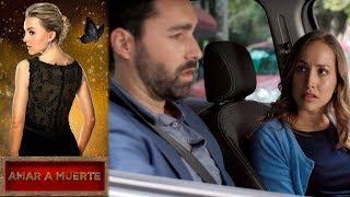 ¿Renata sospecha del crimen de Guille? | Amar a muerte - Televisa
