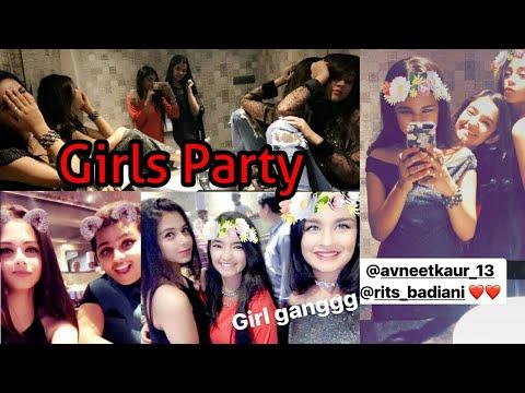 Xxx Mp4 Girls Party Avneet Anushka Reem Rittika At Siddharth Nigam Birthday 3gp Sex