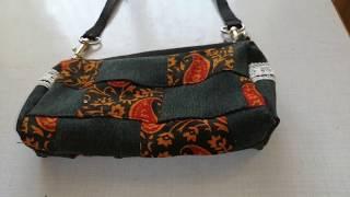 DIY Miny Handbag with Old  Waste Jeans Cloth    Easy Making handbag    Diy Handmade Handbag