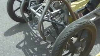 How to make an electric car or DIY trike.