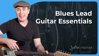 Essential Blues Lead Guitar. The Best Blues Guitar Lessons!