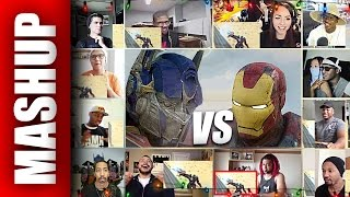 Marvel IRON MAN vs Transformers 5 OPTIMUS PRIME Super Power Beat Down Reactions Mashup
