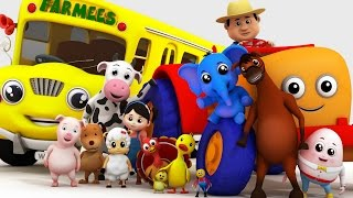 Top 20 Nursery Rhymes Collection with Farmees | Kids Songs | Children Rhymes
