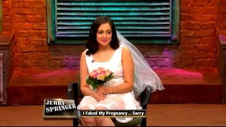 I Faked My Pregnancy...Sorry! (The Jerry Springer Show)