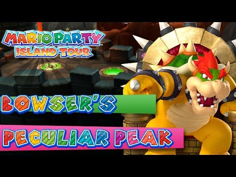Mario Party Island Tour Bowser s Peculiar Peak 4 Player