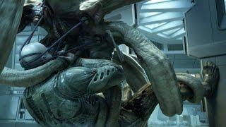 Alien covenant the crossing deacon survives for Prometheus xenomorph mural