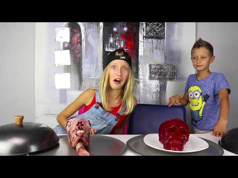 GUMMY vs REAL FOOD 6!!!! Extreme!!!!