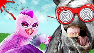 EL POLLO DE GUERRA HA VUELTO | ULTIMATE CHICKEN HORSE TROLL