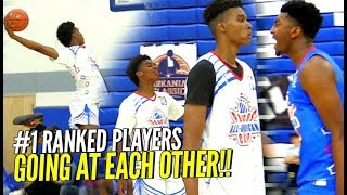 #1 Ranked Players GOING AT EACH OTHER!! Kyree Walker & PJ Fuller vs Josh Christopher & Isaiah Todd!!