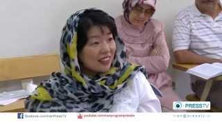 Learning Farsi in Iran - presstv iran program Elpida Soltani