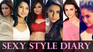 Sexy Style Diary Of Television Actress - Hot Video