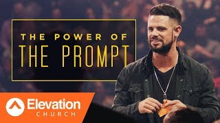 God's promises start with a prompting. | Gamechanger | Pastor Steven Furtick