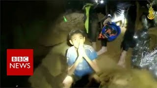 Thailand cave: New video shows boys in