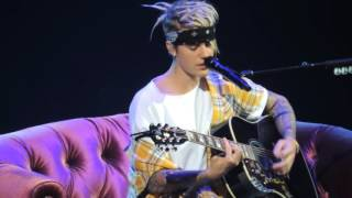 Cry Me A River And Love Yourself- Justin Bieber (Purpose World Tour) 4/29/16