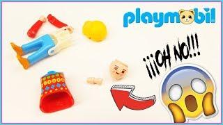 Playmobil - Como desmontar un playmobil. Desmonto un playmobil y mira lo que pasó!!!