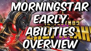 Morningstar: Early Abilities Overview & Theorycrafting - Marvel Contest Of Champions
