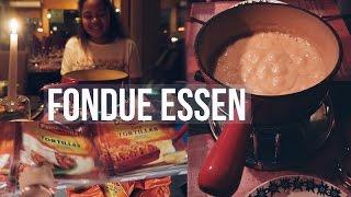 Fondue essen, einkaufen...  Vlog #3 //Hannah