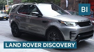 The 2017 Land Rover Discovery is a luxury ride with some nifty features