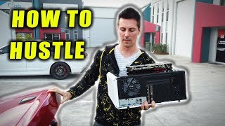 How To Hustle Gaming PCs - Making Two BUDGET Rigs from 'Trash'