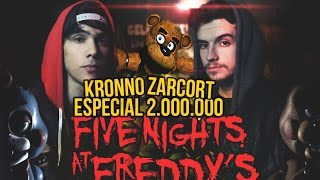 FIVE NIGHTS AT FREDDY'S RAP | 2 MILLONES | ZARCORT Y KRONNO