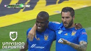 ¡Goool de los Tigres! Doblete de Enner Valencia y Tigres retoma la ventaja