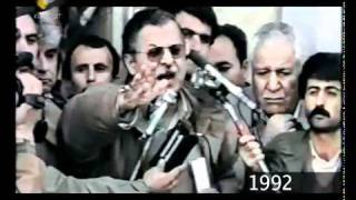 Mam Jelal 1992. Kerkuk kurdistana