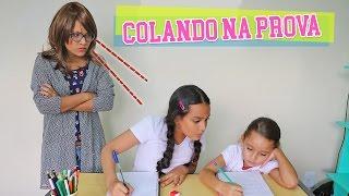 QUANDO A PROFESSORA ME PEGA COLANDO NA PROVA! - JULIANA BALTAR