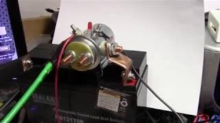 12 volt battery powered 18650 spot welder experiment  part 1: Assembling the parts