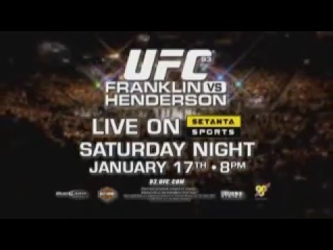 UFC 93 Franklin vs Henderson Extended Preview