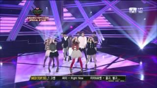 Coed School - Bbiribbom Bberibbom (Mnet M!Countdown 2010.11.04)
