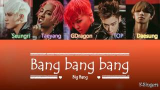 Big Bang - Bang Bang Bang (뱅뱅뱅) | Sub (Han - Rom - Español) Color Coded Letra