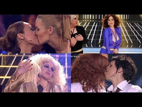 Tu cara me suena Edurne Mónica Llum y Toñy suben la temperatura en una gala llena de besos