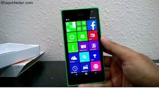 Nokia Lumia 730 / Lumia 735 Unboxing and First Impressions