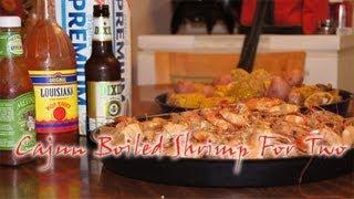 Cajun Boiled Shrimp Recipe