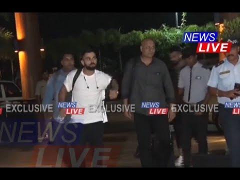 #INDvWI | Virat Kohli, Rohit, Shikhar, KL Rahul, Umesh Yadav, Rishabh Pant arrive in Guwahati