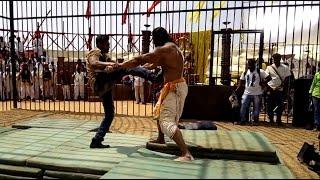 Bharjari Kannada Movie Making   Dhruva Sarja   Rachita Ram   Haripriya  