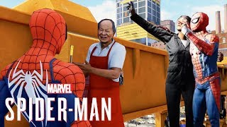 Spider-Man PS4 - New Gameplay!  Taking Selfies, Secret Locations & FISK IS BACK!