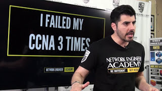 I FAILED my CCNA 3 times - This is part of my story :(  [Video 1 of 2]