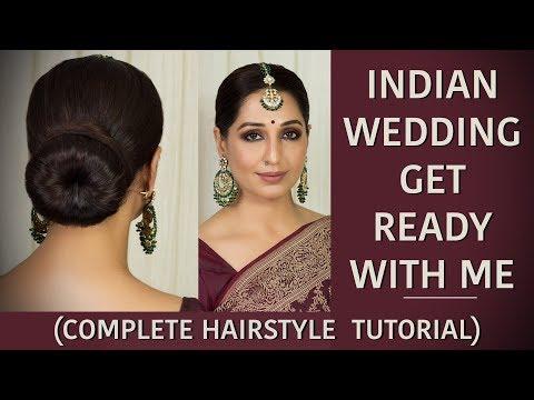 Xxx Mp4 How To Do Perfect Indian Hair Bun Step By Step Easy Low Hair Bun Tutorial Chandni Singh 3gp Sex