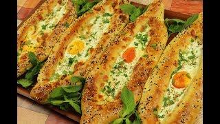 معجنات تركية بالبيض والجبنة بعجينة الزبادي الطرية والخفيفة كالقطن مع رباح محمد ( الحلقة 590 )